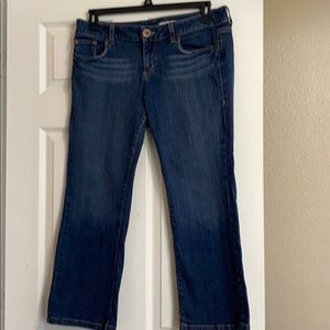 DKNY flared jeans for petites. 12